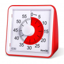 KEEQII 60-min Countdown Timer, Visual Kitchen Timer, Silent Kid Timer, for Cooking, Reading, Time Management, Loud Alarm